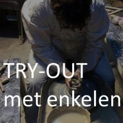 try out met enkelen